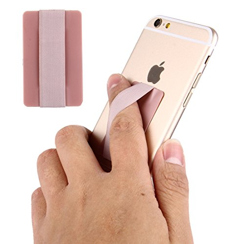 Price comparison product image Fone-Stuff Elastic Finger Grip,  ULTRA-THIN SERIES,  Mobile Phone,  iPhone and iPad Tablet Kindle Holder in Rose Gold