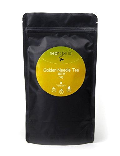 Premium Golden Needle Tea aus der Yúnnán Provinz in China, ganze Blätter, loser Tee, einzigartiger Geschmack mit edlem Aroma – 50g