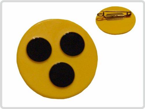 Blindenplakette Plakette aus Kunststoff mit Anstecknadel *Top-Qualität zum Top-Preis*