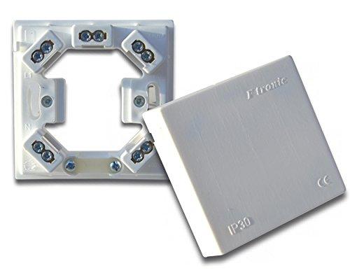 Preisvergleich Produktbild Herdanschlussdose für aufputz und unterputz 80x80