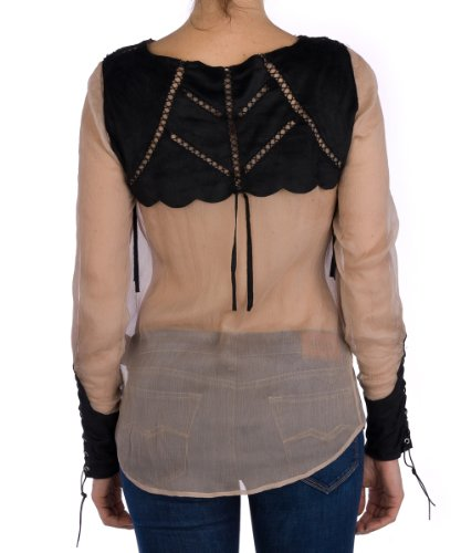 Replay- Blouse - Manches longues - Femme Beige (893)