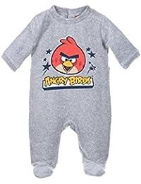 Angry Birds - Pyjamas Bébé Angry Birds Couleur - Gris, Taille - 3M