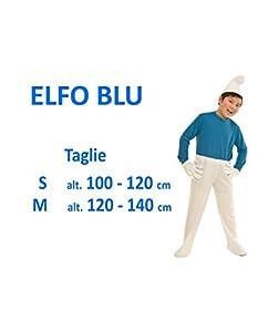 Glooke Selected traje pitufo Niño 5+, Multicolor, 5-7Years, 373478
