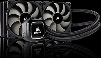 Corsair Hydro H100 X 240 Mm Radiator Dual 120 Mm Pwm Fans Liquid Cpu Cooler - Black 12
