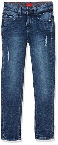 s.Oliver Jungen Jeans 61.709.71.3003, Blau (Blue Denim Stretch 56Z6), 134 (Herstellergröße: 134/REG)