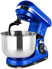 Melangechef 400W 6 Speed Stand Mixer MK18C, Tilt-Head Electric Food Mixer with 4L Stainless Steel Bowl, Dough