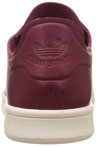 adidas Stan Smith Nude, Sneaker Bas Cou Femme, Lie-de-Vin Rouge (Collegiate Burgundy/off White)