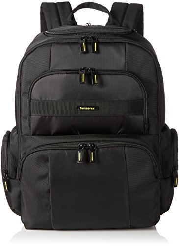 "Samsonite Infinipak Laptop Backpack, Mochila para portátil, 17.3"", Negro, 48 cm"