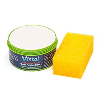 Vistal 500g Concentrated Eco-Friendly Multi-Purpose Cleaner Restorer for uPVC Window Frames, AGA Range Cookers, Metals, Granite, Marble and Many More Jobs Around Your Home and Garden.