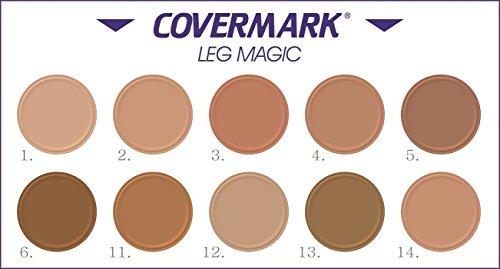 Covermark Stark Deckendes Wasserfestes Camouflage Make Up Für Beine und Körper, Nr 2.