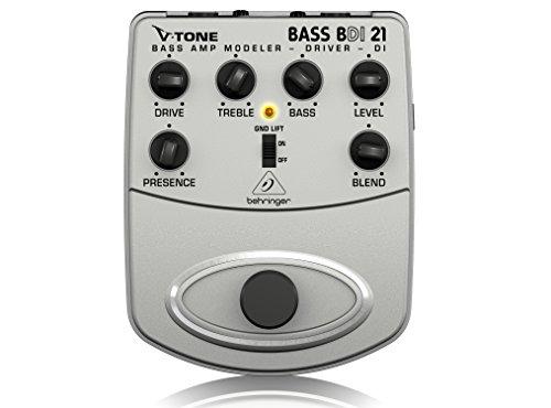 Behringer V-Tone Bass Driver DI BDI21 Bass-Amp Modeler/Direct Recording Preamp/DI-Box