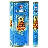 """Hem """"Lord Buddha"""" Räucherstäbchen, in sechseckiger Verpackung, 6Packungen à 20Stäbchen = 120Stäbchen, von Makbros preisvergleich bei billige-tabletten.eu"""