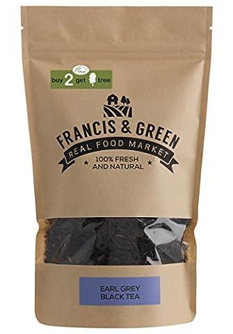 Earl Grey Loose Leaf Black Tea - Francis & Green, 170g