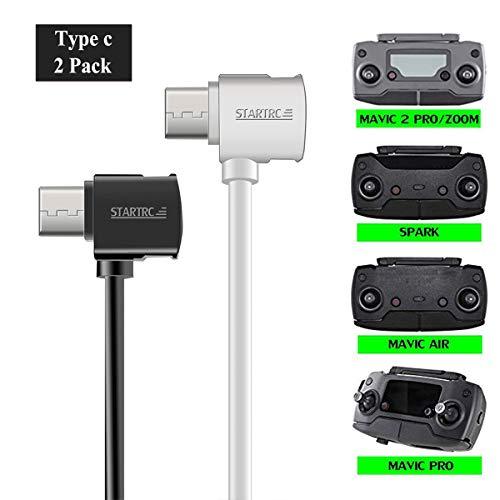STARTRC Micro USB bis Typ-C USB Kabel für DJI Mavic 2 Pro Zoom/Mavic Pro Platinum/Mavic Air/Spark Remote Controller