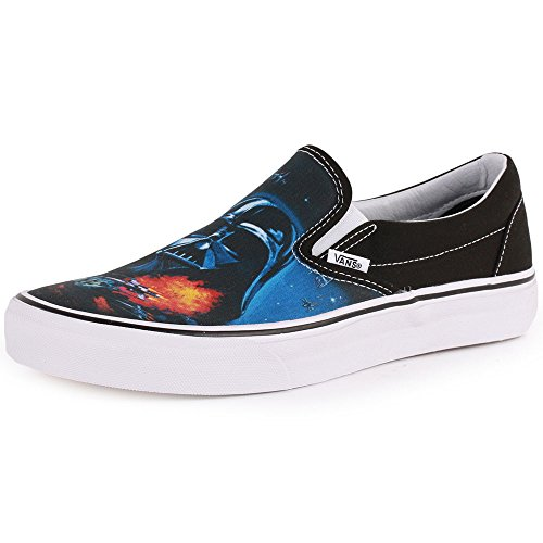 Vans U Classic Slip-on, Baskets mode mixte adulte bleu/noir