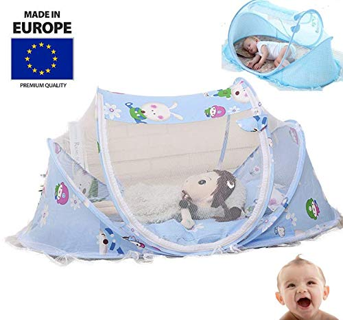 Tavalax Faltbare Baby-Krippe Mit Moskitonetz, Baby-Reisebett & Reisebett & Travel-cot Baby Luxe Reisebettzelt