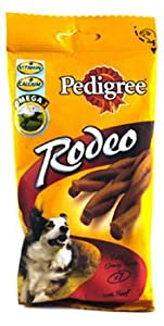 "Pedigree Rodeo - Friandise au bÅ""uf pour Chien 20 x 4 Sticks"