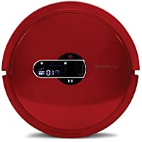 Moneual MR7700 Robot Aspirador, 20 W, 60 Decibeles, Rojo Vino