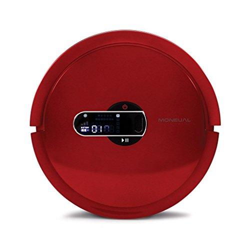 Moneual MR7700 Robot aspirador 20 W, 20 Decibeles, Rojo vino