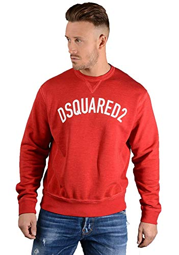 DSQUARED2 Herren S74GU0259 Sweatshirt in Rot - Rot, XL