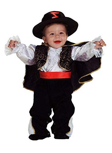 Clown Republic- Petit Don Diego Kostüm, Jungen, 59606/06, (Diego Kostüm)