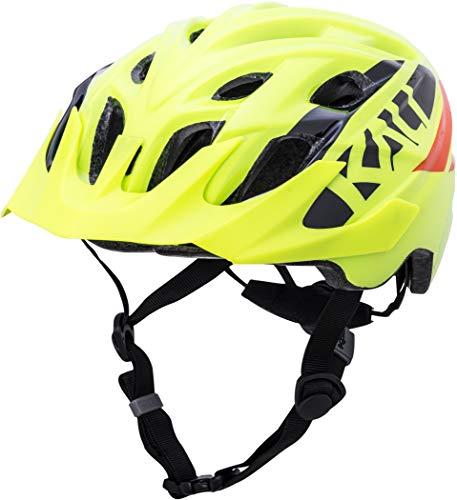 Kali Chakra Helm Youth Gloss neon gelb/orange 2019 Fahrradhelm