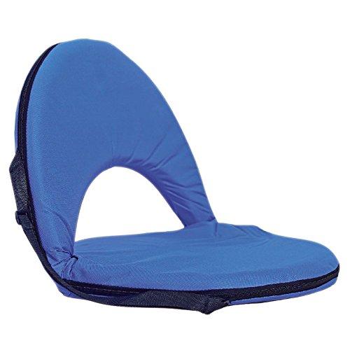 Buri Tragbares Sitzkissen mit Rückenlehne Sitzpolster Strandkissen Camping Picknick - Rückenlehne
