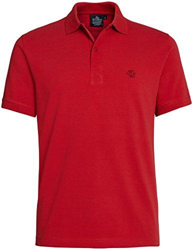 Ahorn Sportswear Übergrößen !!! Designer Basic Polo-Shirt 13 Farben 3XL-10XL Ketchup