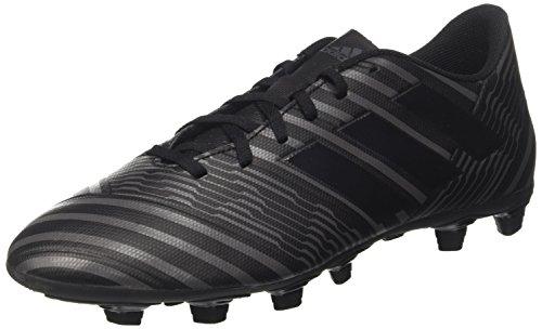 adidas Herren Nemeziz 17.4 FxG Fußballschuhe, Schwarz (Core Black/Core Black/Utility Black), 42 2/3 EU (Herren-rasen-schuhe Fußball -)