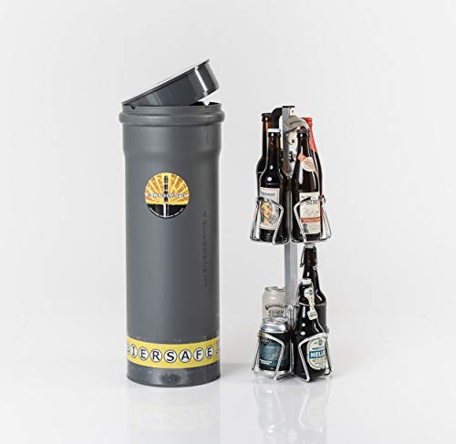 Bruder. Kühler für 8X Bierflasche. ERD-Kühlrohr ohne Strom - Cooles Bier-Geschenk! ()
