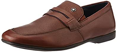 Louis Philippe Men's Brown Leather Formal Shoes - 8 UK/India (42 EU)