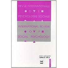 Revue Internationale de Psychologie Sociale, N° 21-4, 2008 :
