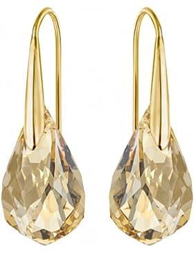 Frau Goldene Ohrringe 5195920 Swarovski Valentine