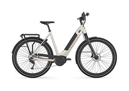 GAZELLE Ultimate T10 HMB 500 Wh Damen Bosch Ebike Pedelec 2020, Rahmenhöhe:53 cm, Farbe:weiß