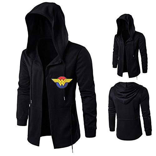 RGLIN Herbst und Winter Sweatshirt Anime Hoodie Superheld Sweatshirt Wonder Woman Hoodie Cosplay Wonder Woman-XXL (Wonder Woman Xxl)