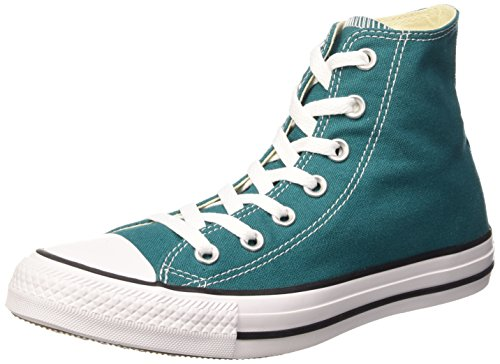 Converse Chuck Taylor All Star, Sneakers Unisex Adulto, Verde (Rebel Teal), 36