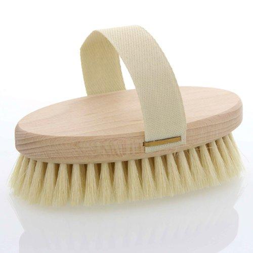 Massagebürste, Kosmetex Hand Badebürste mit Gurt, 13, 5cm, weiche Borsten