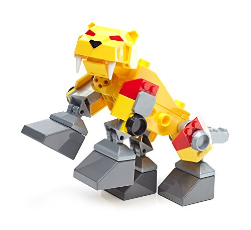 Mega Bloks Power Rangers Sabertooth Zord Building Kit