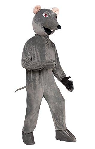 Forum Novelties AC78039 Ratte Kostüm mit großem Kopf