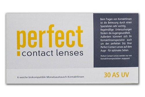 Perfect 30 AS UV Monatslinsen weich, 6 Stück / BC 8.60 mm / DIA 14.20 mm / -3.5 Dioptrien