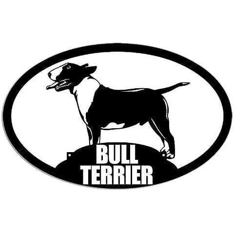 Ovale Bull Terrier, cane di razza adesiva)