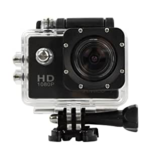 action camera hd 1080p 12mp waterproof sports camera. Black Bedroom Furniture Sets. Home Design Ideas