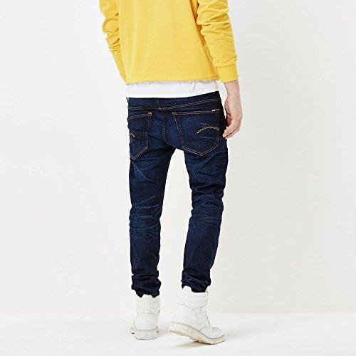 G-STAR RAW Herren Slim Jeans Blau (Blue Aged 5448)