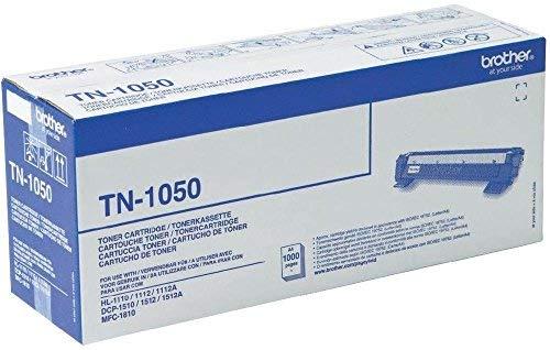 TONER, TN1050, BLACK 1K, BROTHER --- Cartridge Original Type Number:TN1050 --- SVHC:No SVHC (17-Dec-2014)
