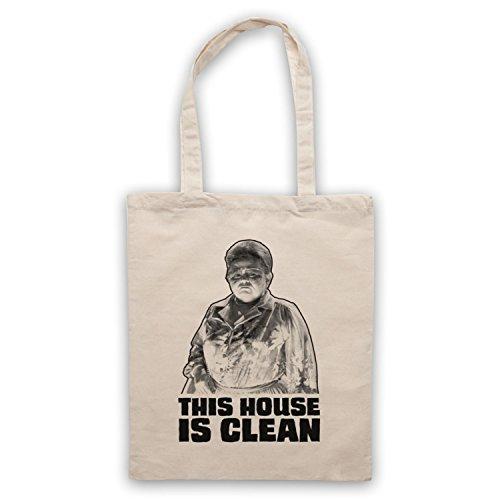 Inspiriert durch Poltergeist This House Is Clean Inoffiziell Umhangetaschen Naturlich