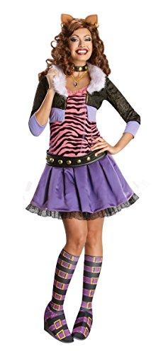Generique - Monster High Clawdeen Wolf-Kostüm für Damen M