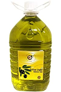 The Oil Factory Extra Light Olive Oil - 5 LTR Plastic Bottle