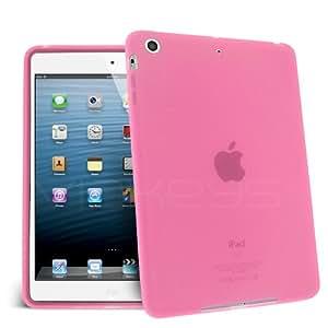 housse protection silicone doux rose pure tablette apple iPad Mini accessoire