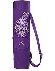 Gaiam Yoga Yoga Mat Bag - Bolsa para colchoneta de yoga, talla única