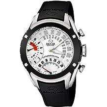 Jaguar correa de reloj J659/1 / J659/2 / J659/3 / J659/4 Caucho / plástico Negro 20mm(Sólo reloj correa - RELOJ NO INCLUIDO!)